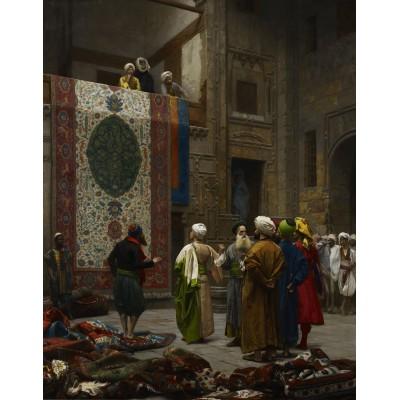 Puzzle Dtoys-72726-GE-03 Jean-Léon Gérôme: Carpet Merchant in Cairo, 1887