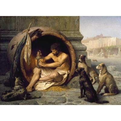 Puzzle Dtoys-72726-GE-04 Jean-Léon Gérôme: Diogenes, 1860