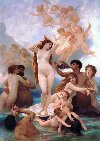 Puzzle Dtoys-72764-BO-01 Bouguereau William: Geburt Der Venus