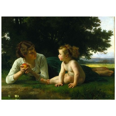 Puzzle Dtoys-72764-BO-02 Bouguereau William: Versuchung