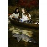Puzzle  Dtoys-72771-TI-01 James Tissot: On the Thames, A Heron