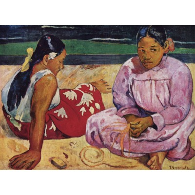 Puzzle Dtoys-72818-GA-01 Gauguin Paul: Frauen am Strand