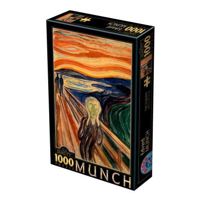 Puzzle Dtoys-72832-MU-01 Munch Edvard : Der Schrei