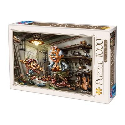 Puzzle Dtoys-72894-CT-01 Biro Donat: Pinnochio