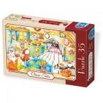 Puzzle  Dtoys-72948-EM-02 Rotkäppchen