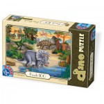 Puzzle  Dtoys-73037-DP-01 Dino