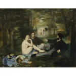 Puzzle  Dtoys-73068-MA-04 Manet Édouard: Das Frühstück im Grünen, 1862
