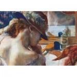 Puzzle  Dtoys-73853-AP05 Degas Edgar - Vor dem Spiegel