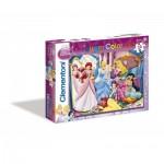 Puzzle  Clementoni-07115 Disney Princess