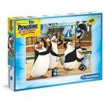 Puzzle  Clementoni-07254 Pinguine aus Madagascar