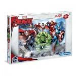Puzzle  Clementoni-07516 XXL Teile - Avengers