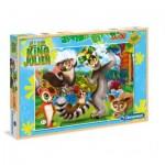 Puzzle  Clementoni-07523 XXL Teile - King Julien