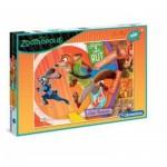 Puzzle  Clementoni-07527 XXL Teile - Zootropolis