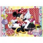 Puzzle  Clementoni-20404 Minnie Maus beim Kleiderkauf