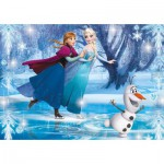 Puzzle  Clementoni-20601 Frozen - Die Eiskönigin