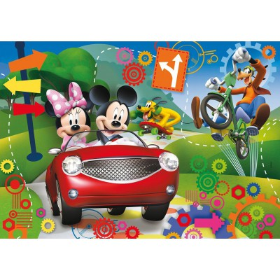 Puzzle Clementoni-20605 Mickey Maus Clubhaus