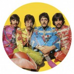 Clementoni-21400 Beatles Puzzle LP-Kollektion rund - With a Little Help from My Friends
