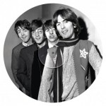 Clementoni-21401 Beatles Puzzle LP-Kollektion rund - Helter Skelter