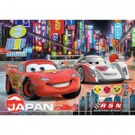 Puzzle  Clementoni-23623 Cars 2: Nächtliches Tokio