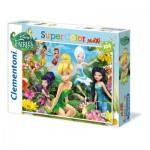 Puzzle  Clementoni-23649 XXL Teile - Disney Fairies