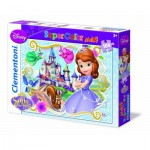 Puzzle  Clementoni-23651 XXL Teile - Disney Sofia The First