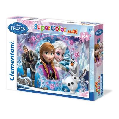 Puzzle Clementoni-23662 XXL Teile - Eiskönigin