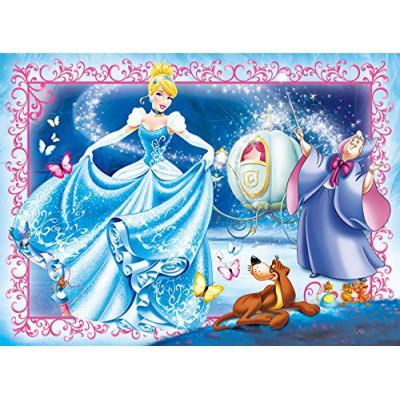 Clementoni-23671 XXL Puzzle - Cinderella