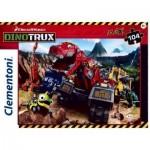 Puzzle  Clementoni-23983 XXL Teile - Dino Trux