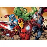 Puzzle  Clementoni-24037 XXL Teile - Avengers