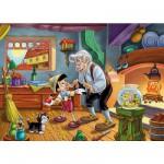 Clementoni-24358 24 Teile Maxipuzzle - Pinocchio und Gepetto