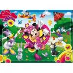 Puzzle  Clementoni-24424 XXL-Teile - Minnie Maus
