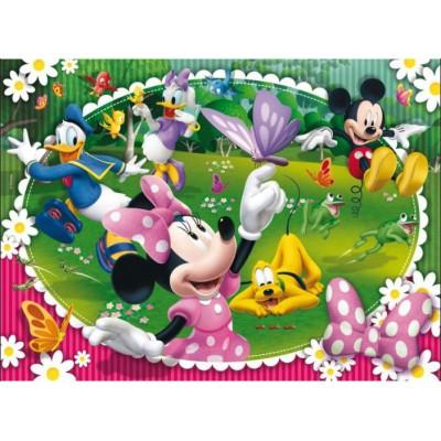 Puzzle Clementoni-24425 XXL-Teile - Minnie Maus und ihre Freunde
