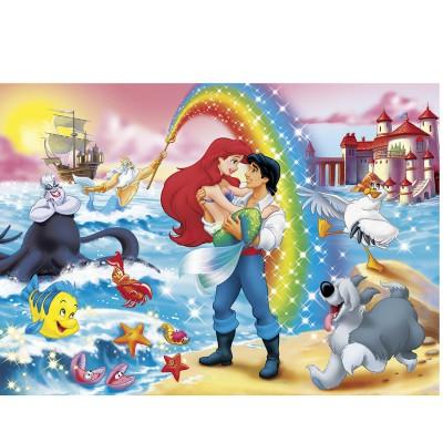 Puzzle Clementoni-24431 Die kleine Meerjungfrau