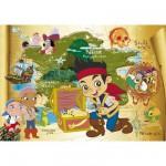 Puzzle  Clementoni-24439 Jake und die Piraten
