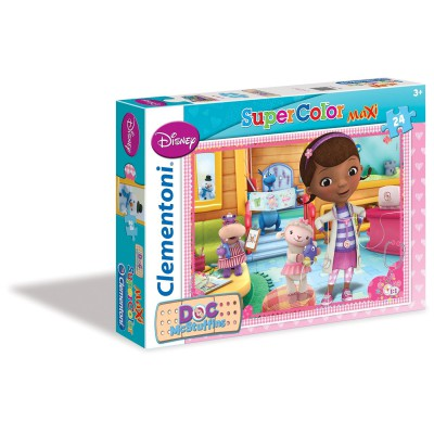 Puzzle Clementoni-24444 XXL Teile - Doc McStuffins
