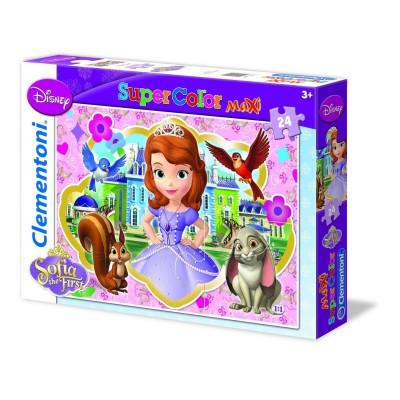 Clementoni-24450 Maxi Puzzle - Royal Preparatory Academy Sofia