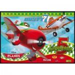 Clementoni-24726 2 Puzzles - Planes