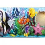 Clementoni-24737 2 Puzzles - Findet Nemo