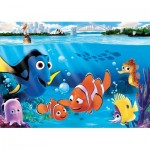 Puzzle  Clementoni-26409 XXL Teile - Finding Dory