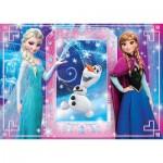 Puzzle  Clementoni-26411 XXL Teile - Frozen - Die Eiskönigin