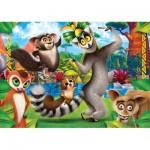 Puzzle  Clementoni-26581 DreamWorks - King Julien