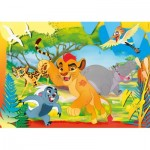 Puzzle  Clementoni-26584 XXL Teile - The Lion Guard