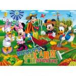 Clementoni-26736 60 Teile Maxipuzzle - Mickey und seine Freunde: Willkommen auf dem Bauernhof