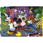 Puzzle  Clementoni-26884 Mickey als Rockstar