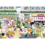 Puzzle  Clementoni-27512 Mickey und seine Freunde: Minnie beim Shopping