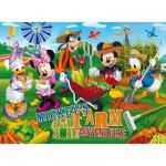 Puzzle  Clementoni-27827 Mickey und seine Freunde: Auf dem Bauernhof