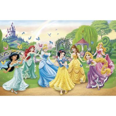 Puzzle Clementoni-27856 Disneys Prinzessinnen und Schmetterlinge