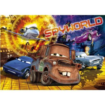 Puzzle Clementoni-27860 Cars: Die Geheimagenten