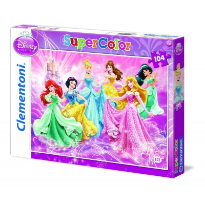 Puzzle Clementoni-27885 Prinzessin - Reinen Herzens