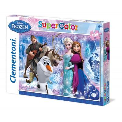 Puzzle Clementoni-27912 Eiskönigin
